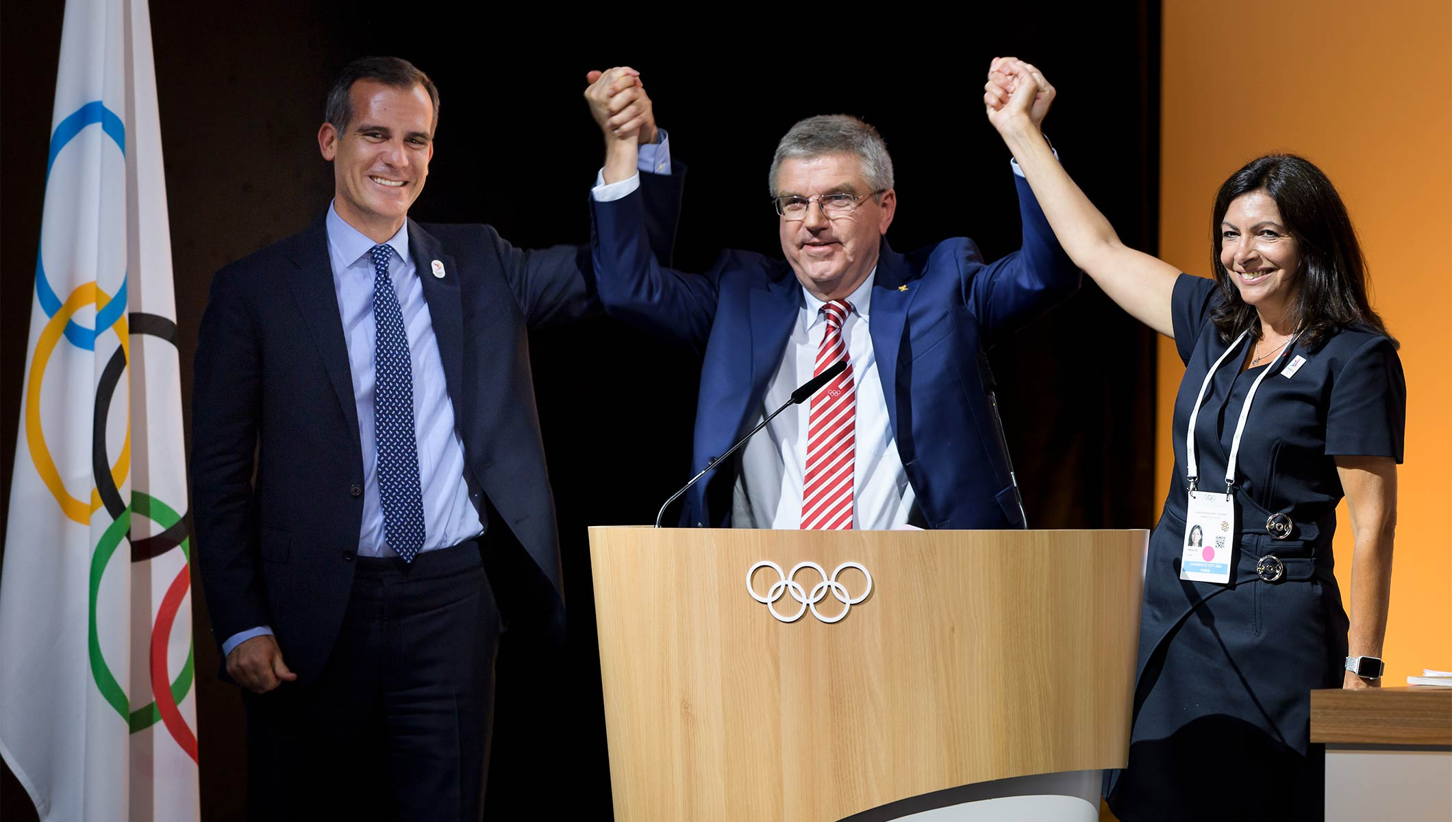HOW PARIS, LOS ANGELES AND THE IOC MOULDED A 'WIN-WIN-WIN'