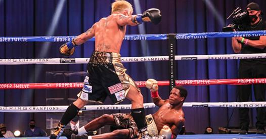 Philippino John Riel Casimero knocks out Ghana's Duke Micah in round 3