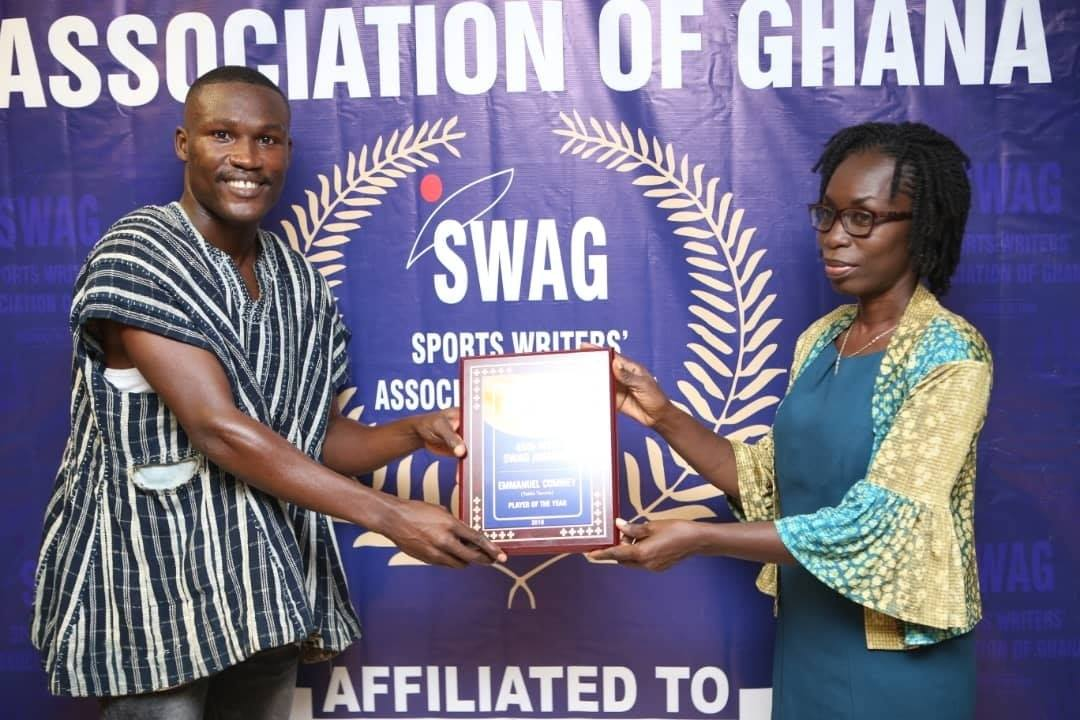 Emmanuel Commey Wins 2019 MTN / SWAG Table Tennis Player Of The Year
