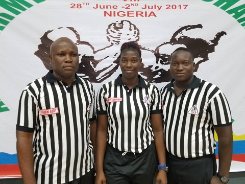 Akueteh Addy heads Ghana Armwrestling Referees Commission