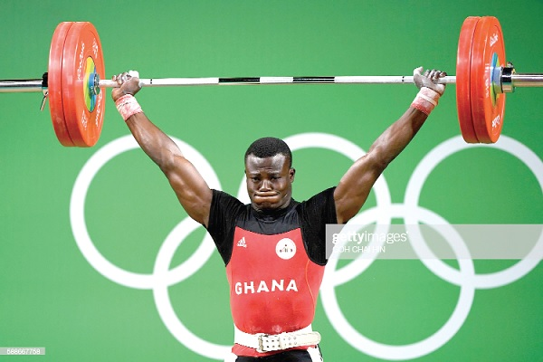Amoah – From Trotro Mate to Olympic Weightlifter
