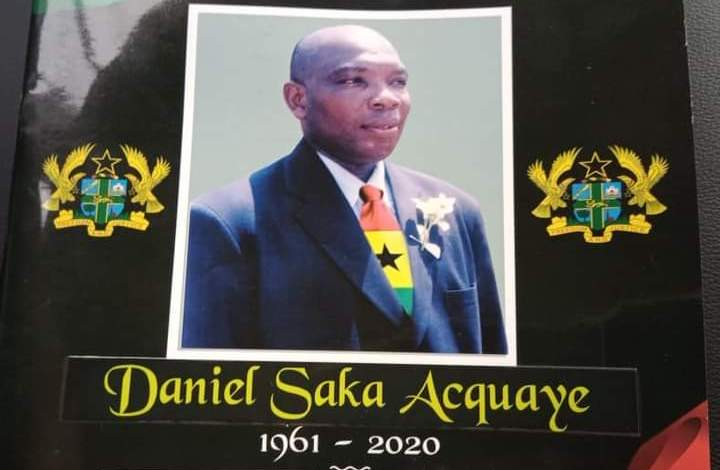 NSA Deputy Director General Saka Acquaye laid to rest
