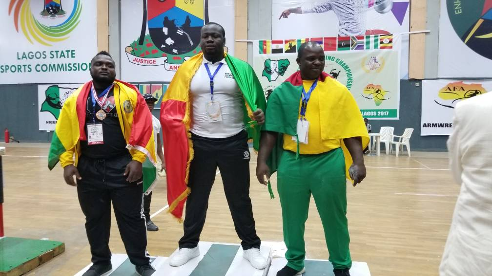 Ghana To host 2018 African Armwrestling Championship