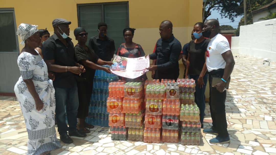 Dreamland Sports Plus donates towards funeral of late NSA Deputy DG Saka Acquaye