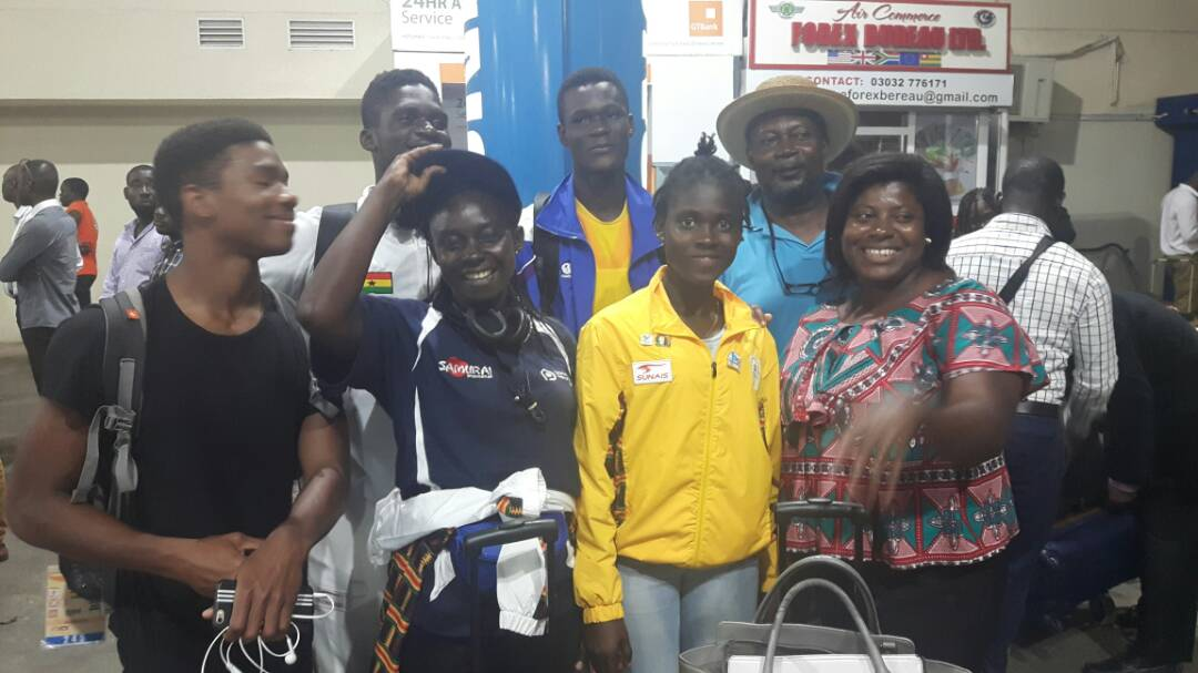 Team Ghana returns from Bahamas 2017 Commonwealth Youth Games