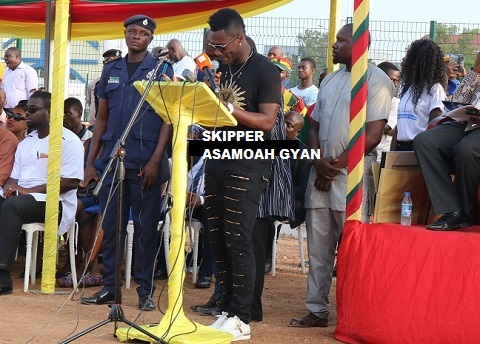 Top Players Laud Dr. Nana Captain Asamoah Mensah Gyan