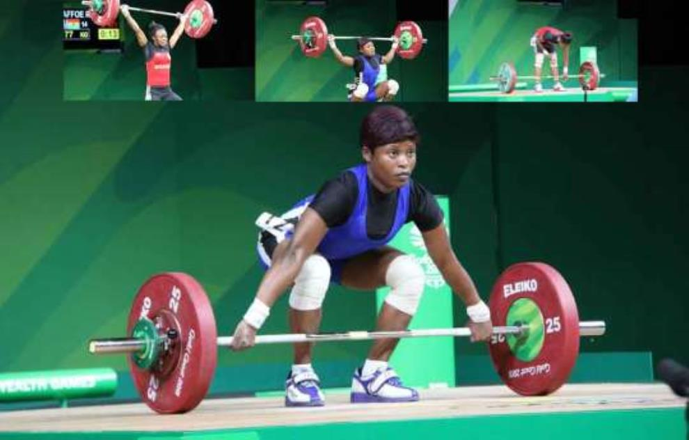 Baffoe Places 10th Position In Weightlifting @ 2018 Commonwealth Games