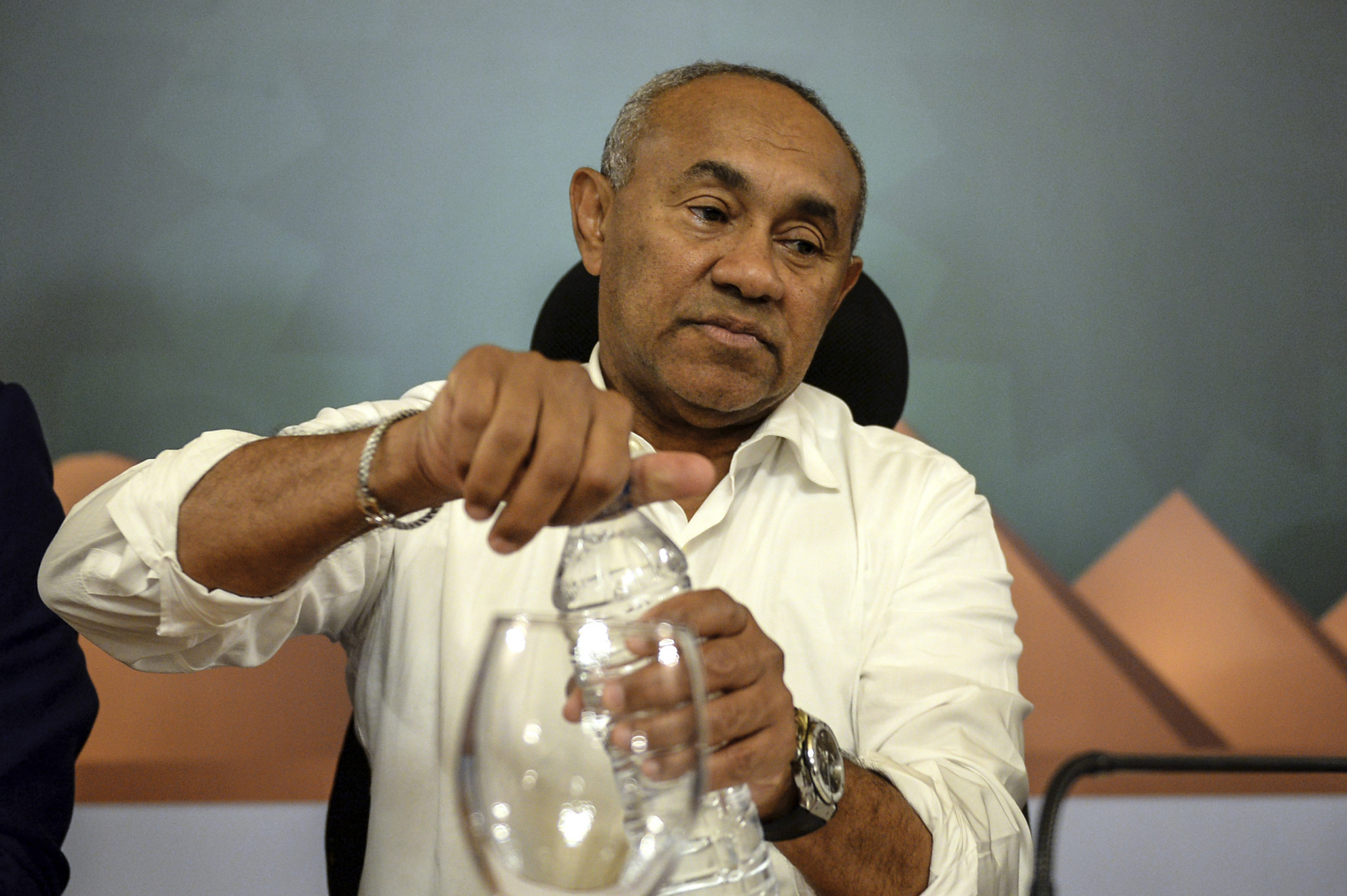 CAF President Ahmad Ahmad contracts COVID-19