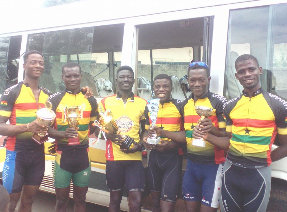 Ghana Makes History In Cycling …win 2017 'Tour De Lest' International