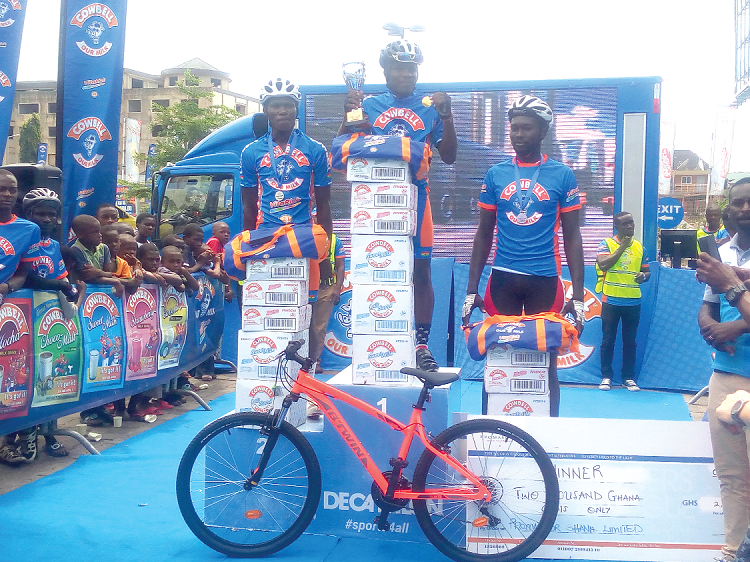 Frank Akuffo Claims Cowbell Cycling Challenge Cup