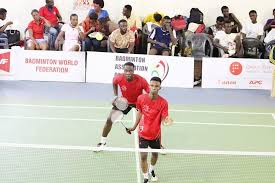 Ghana Badminton team wins bronze and silver in Benin