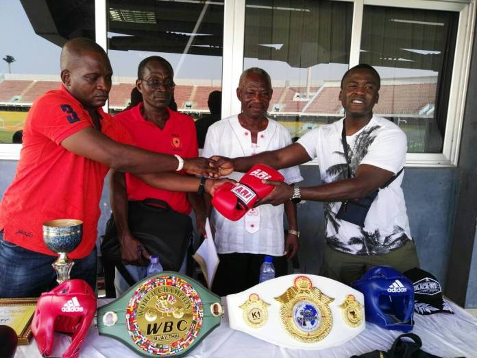 World Champion Nyanyo Nmai Gives Back To Ghana Kickboxing