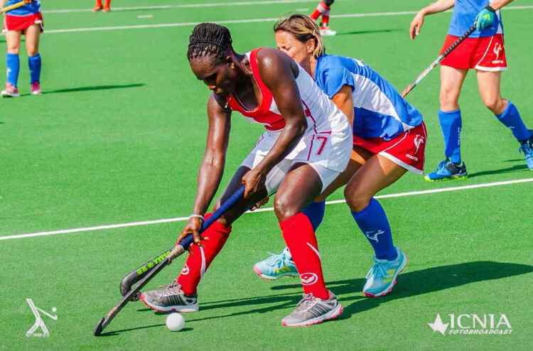 Star Chat with Hockey Star Georgina Sam