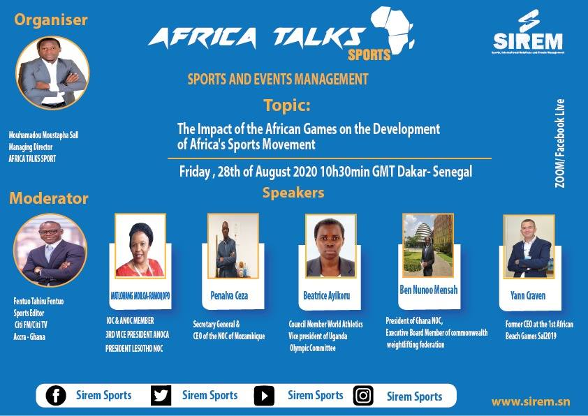 GOC President to feature on Africa Talks Sports Webinar Meeting
