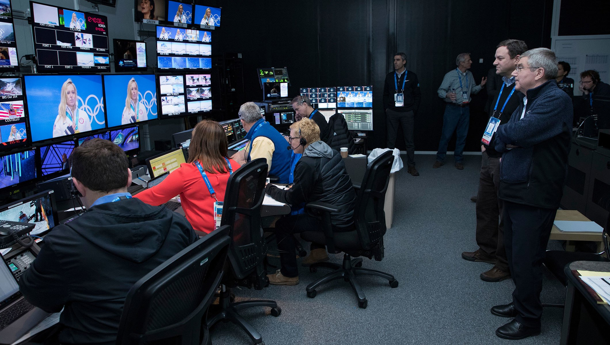 BEHIND-THE-SCENES LOOK AT THE WORLD OF OLYMPIC BROADCASTING