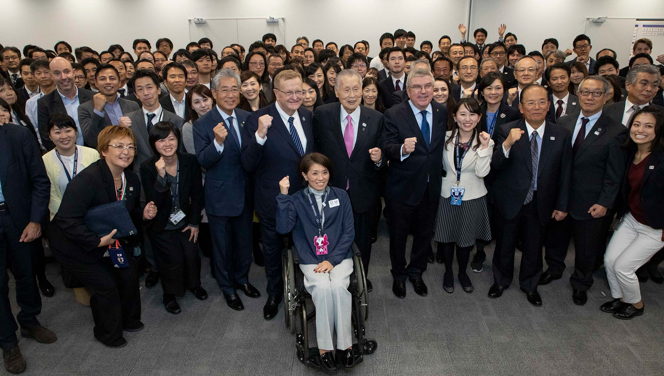 IOC President Praises Progress Of Preparations For Tokyo 2020 Olympic Games