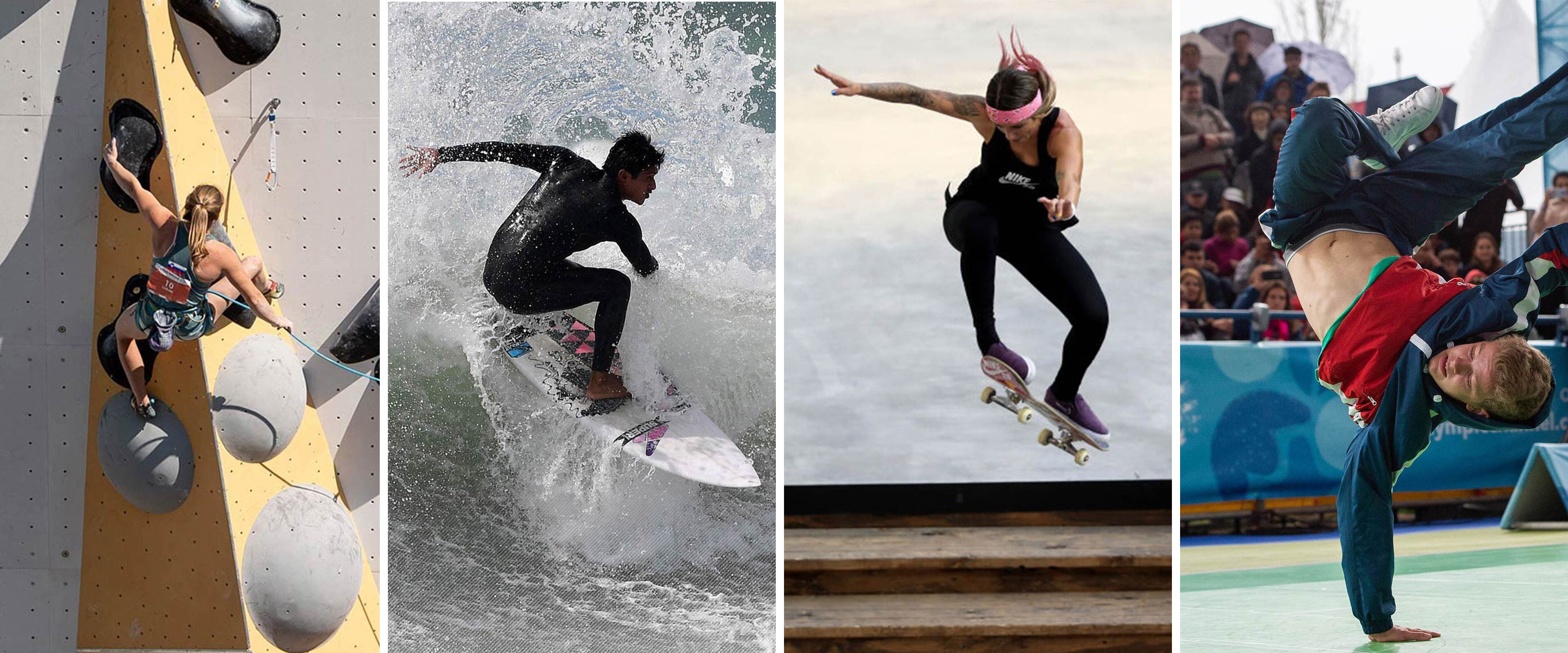 Breaking, Skateboarding, Sport Climbing And Surfing Provisionally Included On The Sports Programme Of The Olympic Games Paris 2024
