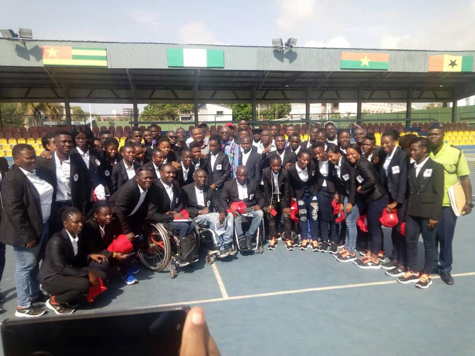Ghana athletes depart for 2018 Commonwealth Games in Australia