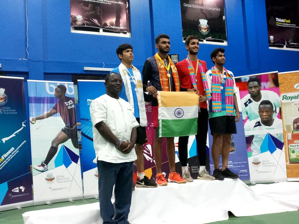 India Wins J.E. Wilson International Badminton Tournament In Ghana