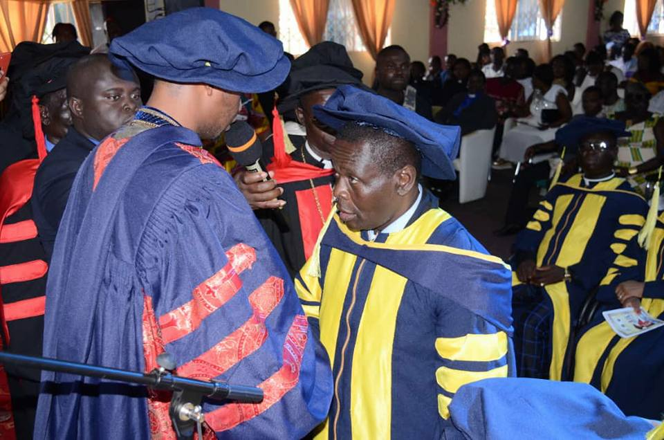 Coach Asare Awarded Doctorate Degree