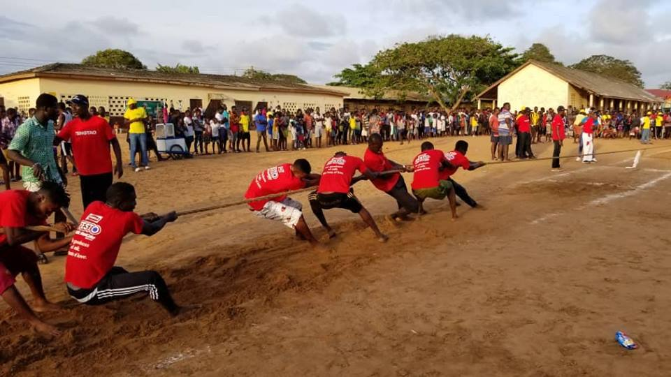 True Hustlers Win 2018 Parleys Tug Of War Competition At Chorkor