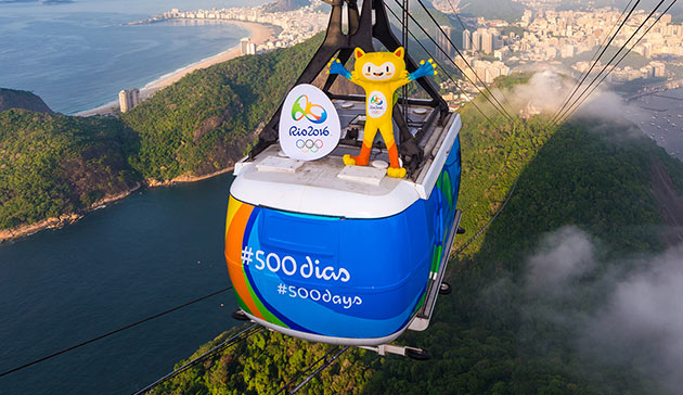 Rio 2016 celebrates 500 days to go