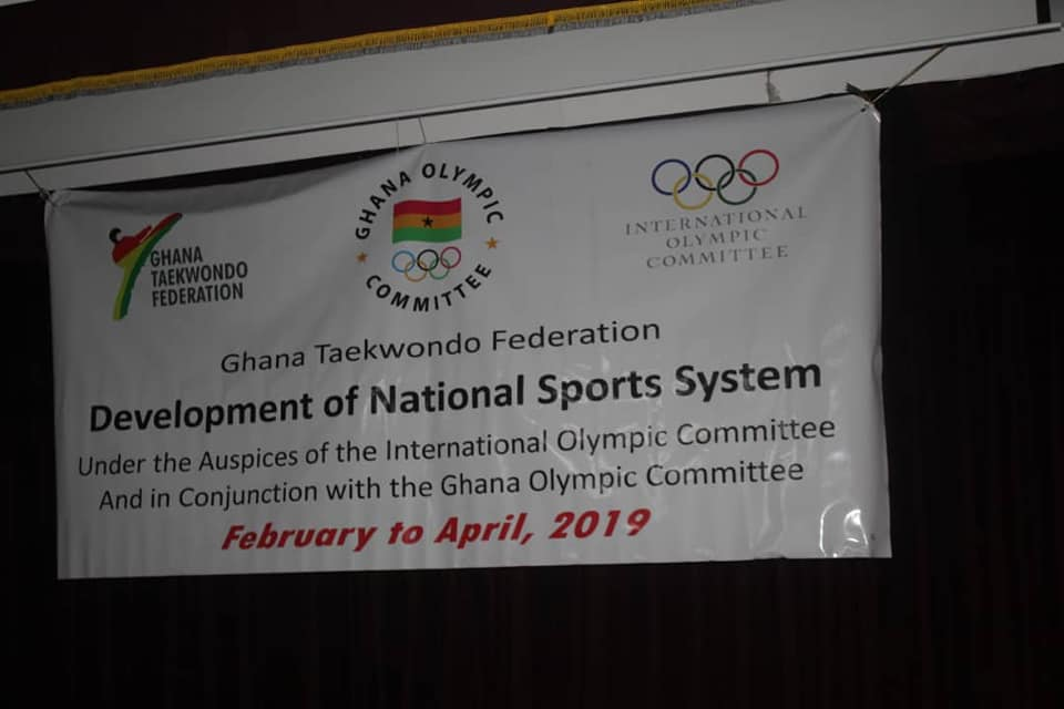 Ghana Taekwondo trains 20 Administrators in 2nd DNSS program