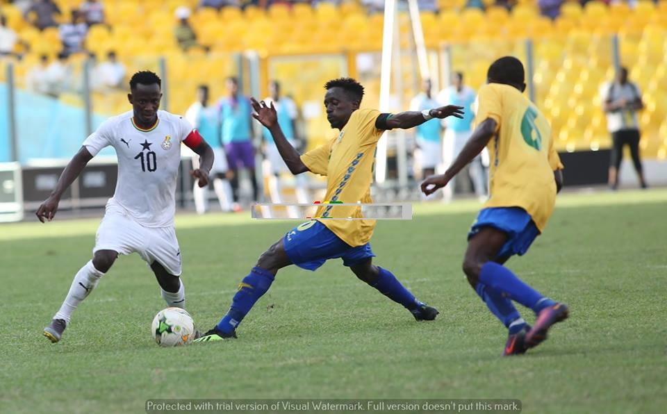 Ghana whack Gabon 4-0 in U-23 AFCON Qualifier