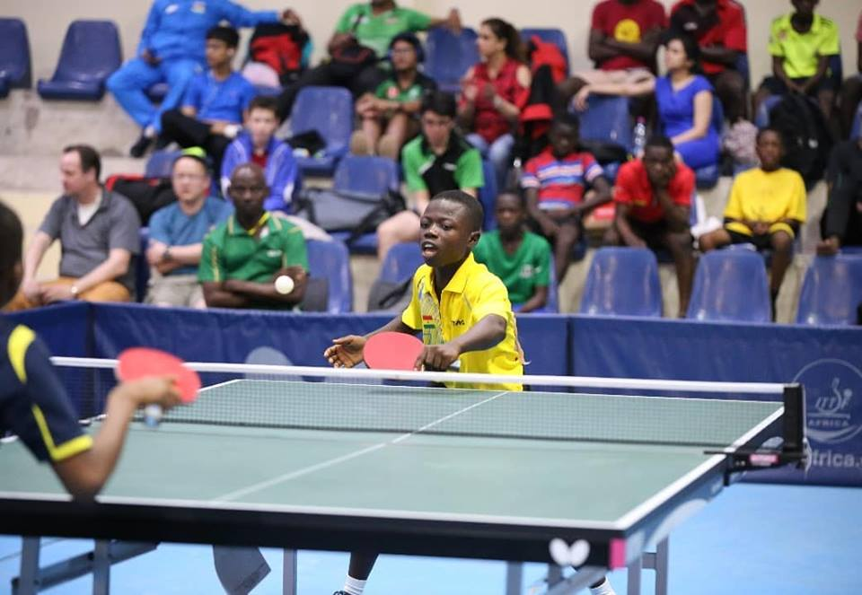 Ibrahim Gado  Wins Ghana's Only Gold At World Cadets Table Tennis Open