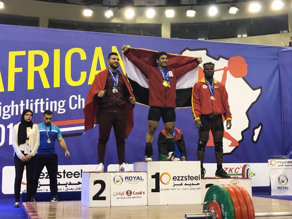 Ghana bags three bronze medals at African Weightlifting Championship