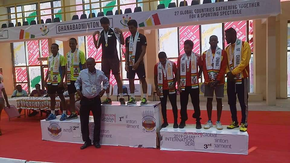 2019 J E Wilson International Badminton Winners