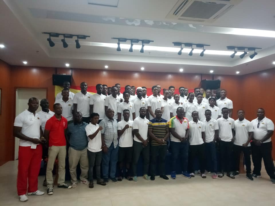 Team Ghana Camp In Cape Coast Ahead Of 2019 African Games