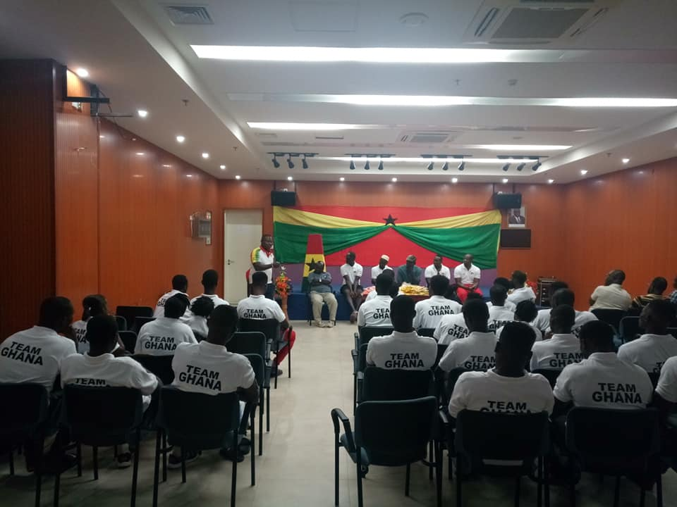 Team Ghana signs Code of Conduct