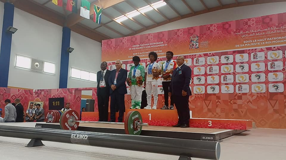 Winnifred Wins Ghana's First Medal In Weightlifting