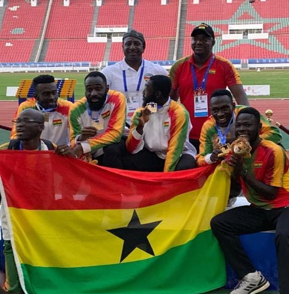 African Sports Media Ghana Country Director Commends Ghanaian Athletes At 2019 African Games