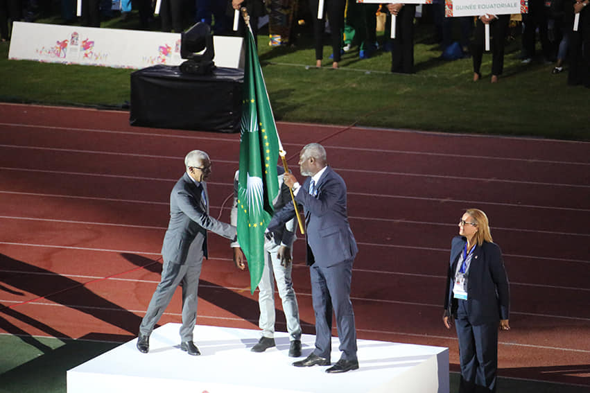 Ghana officially handed AG flag to host 2023 Games