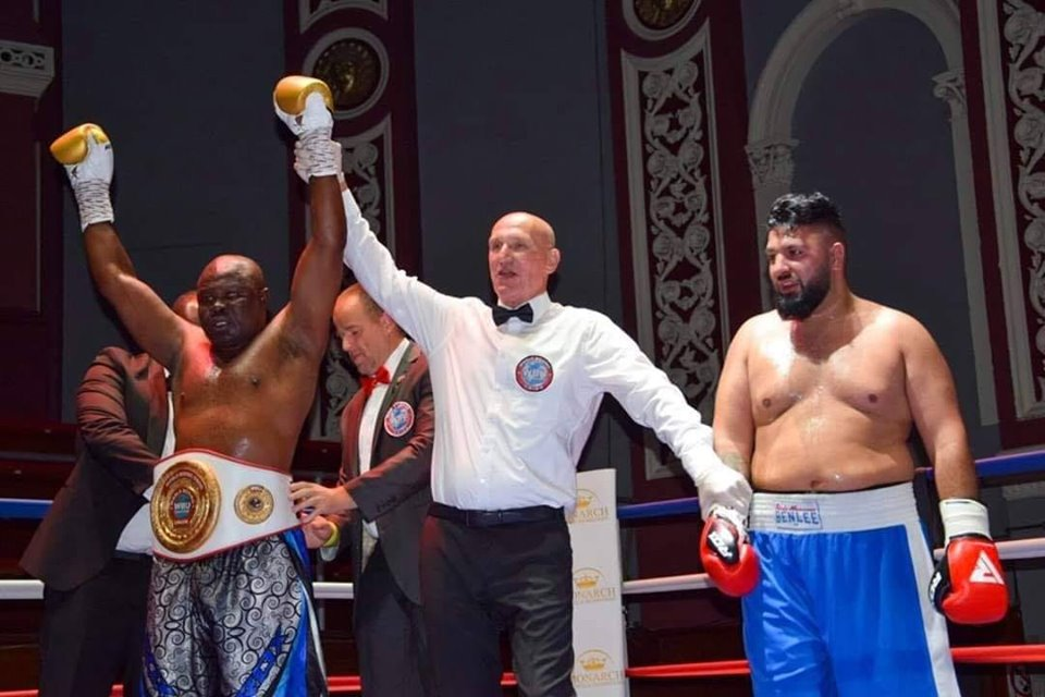 Bukom Banku wins first fight in UK in style