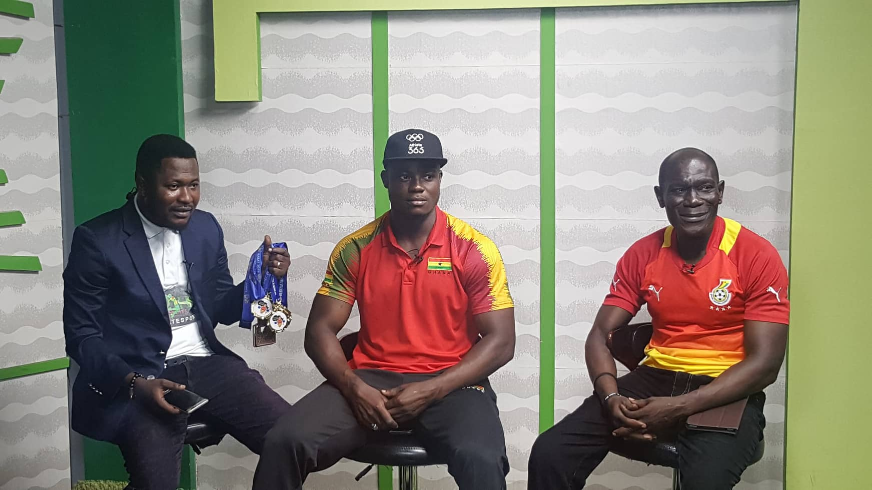HSTV / Ultimate Sports Hosts African Weightlifting Champion Christian Amoah