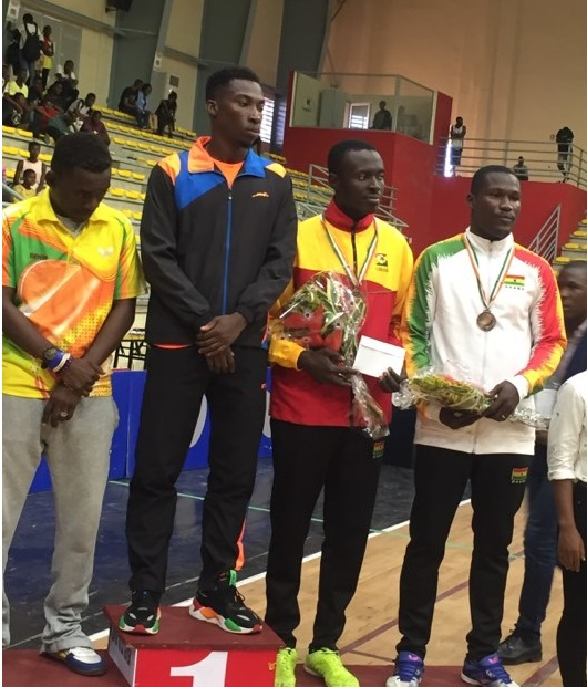 Commey Grabs Bronze At African Table Tennis Top 16 Championship