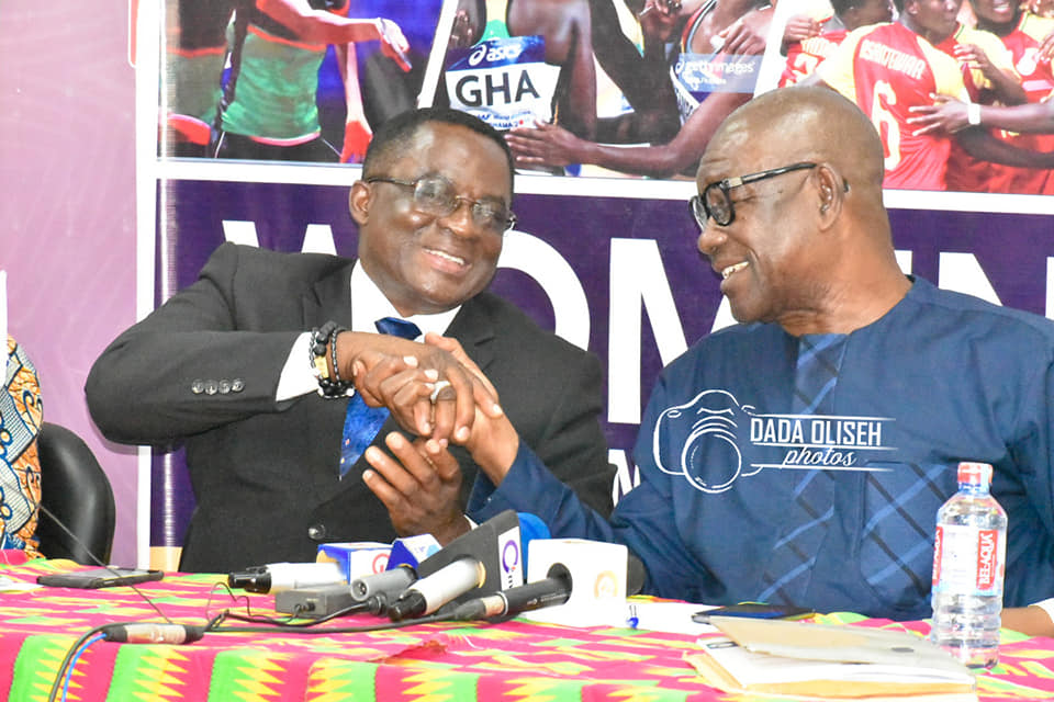 WOSPAG Colloquium Re-Unites GOC Presidents B.T. Baba And Ben Nunoo Mensah