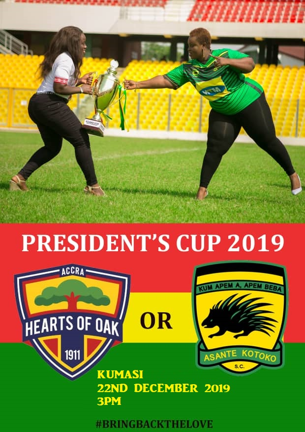 2019 President's Cup rescheduled to December 22
