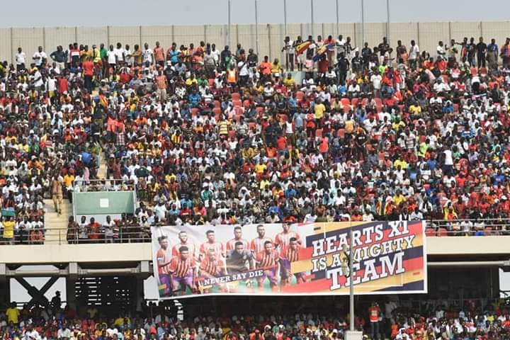 Hearts versus Kotoko: Massive $130,000 gate proceeds set new revenue record