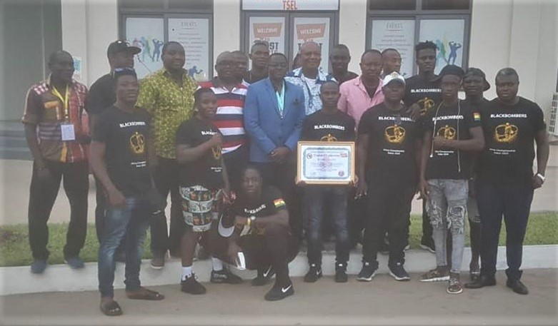 Black Bombers Shows Appreciation To GOC