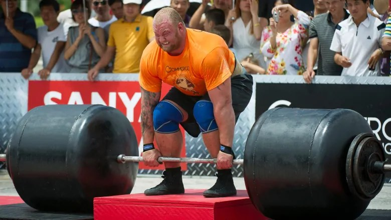 Bjornsson Deadlifts 1,104 Pounds To Break World Record