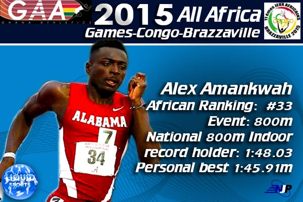 Alex Amankwah becomes first Ghanaian to qualify for Rio 2016