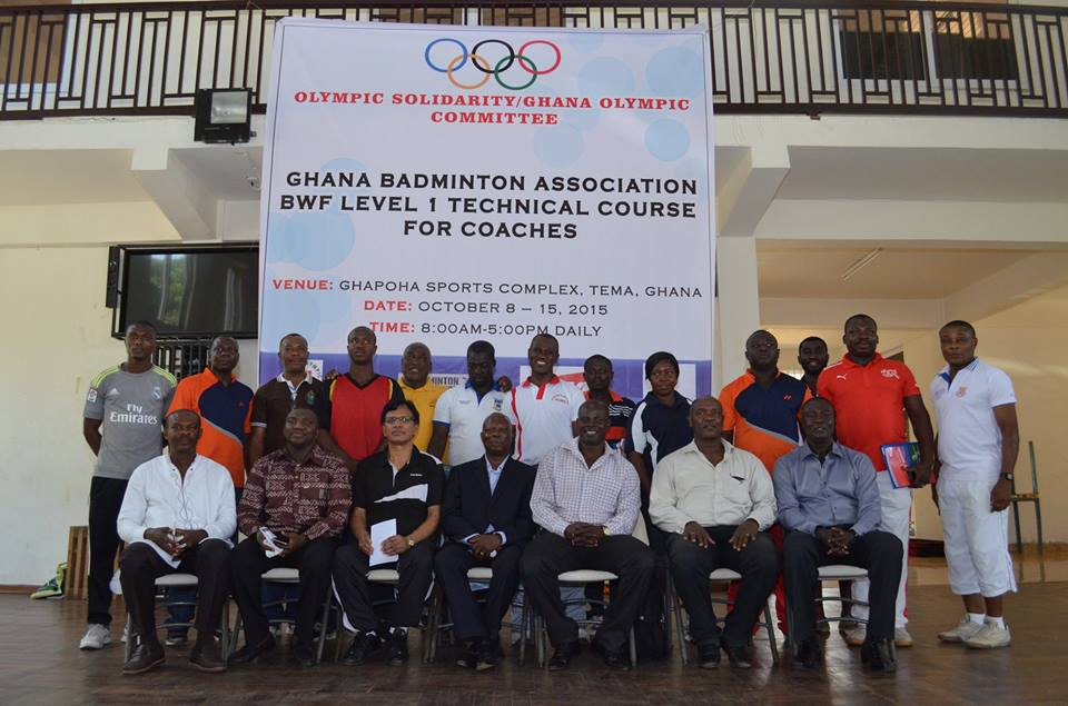 IOC/GOC Technical Course for Badminton Coaches Opens