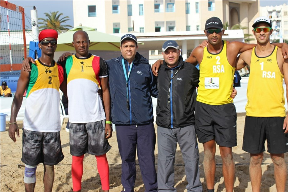 Ghana Beach Volleyball Team qualify for All Africa Games
