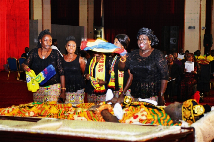 C.K Gyamfi laid to rest
