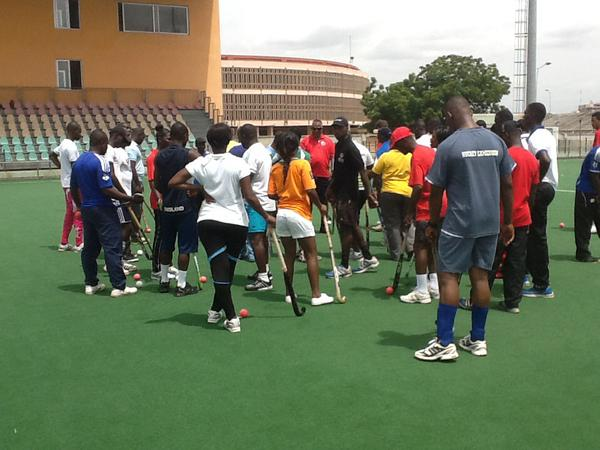 Ghana Hockey reap benefits from Hockey TAP West Africa