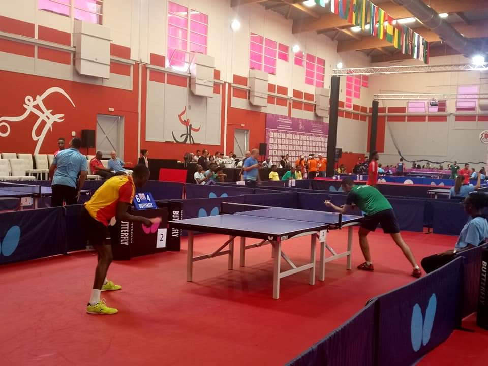 Ghana Beats Morocco In Table Tennis At AG 2019